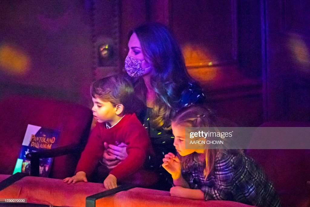 BRITAIN-ROYALS-CHRISTMAS : News Photo