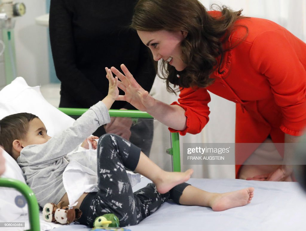 Jan. 17, 2018 with Catherine, Duchess of Cambridge