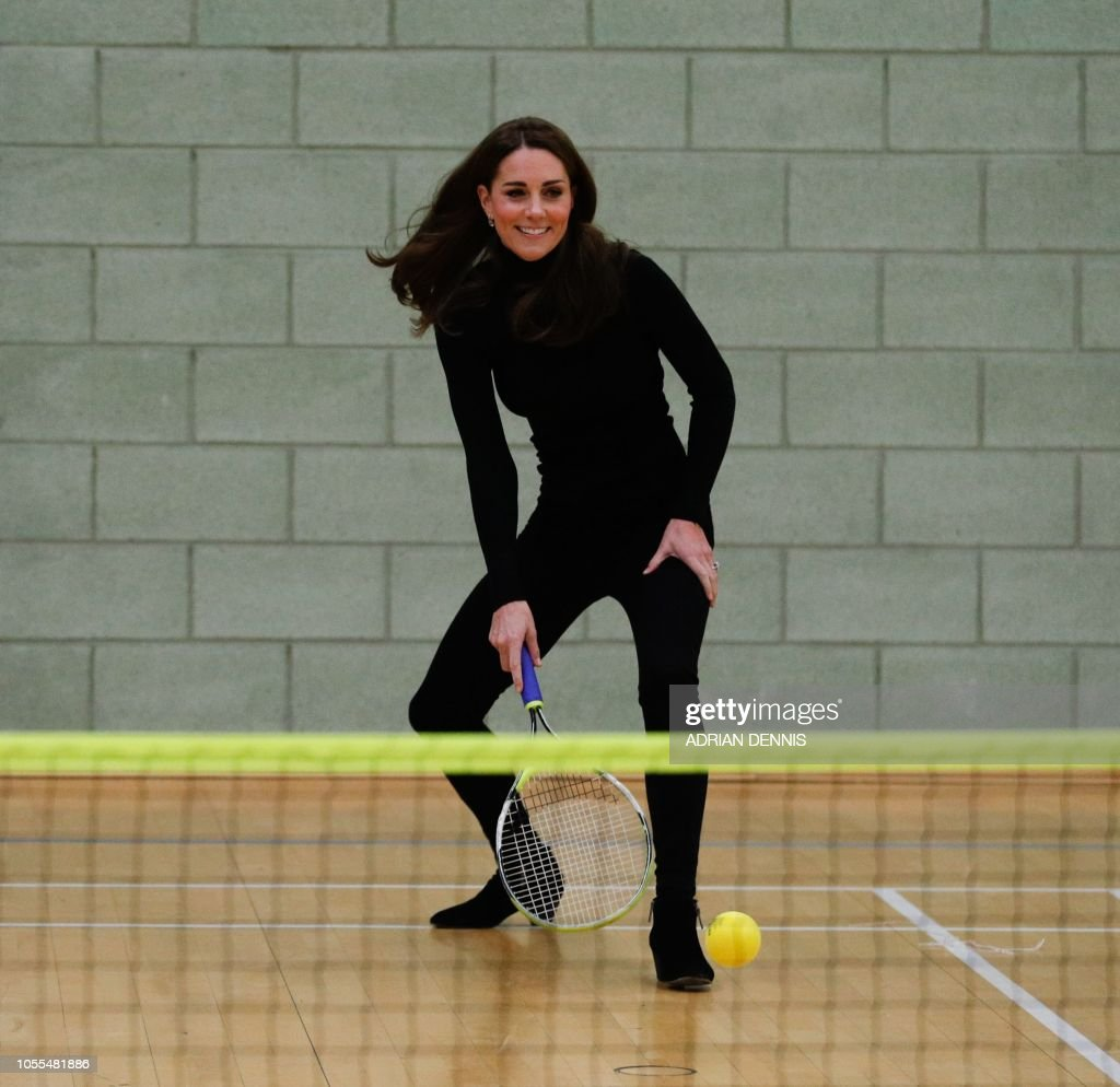 BRITAIN-ROYALS-CHARITY-SPORT : News Photo