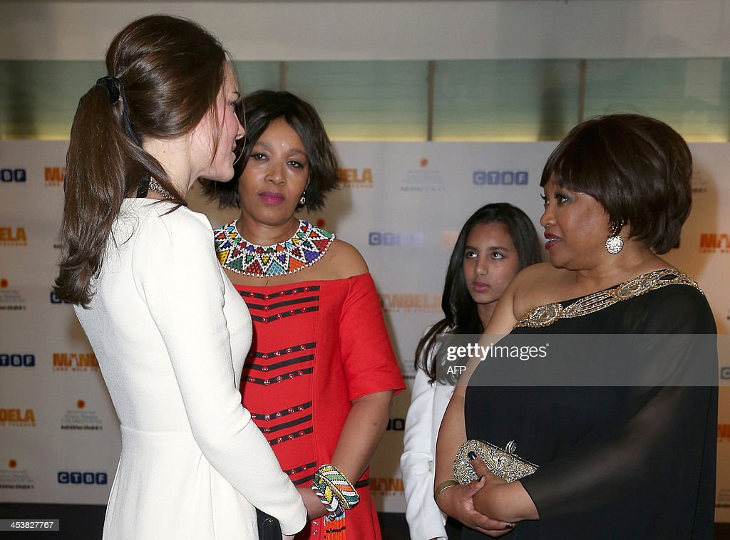 BRITAIN-ENTERTAINMENT-FILM-MANDELA : News Photo