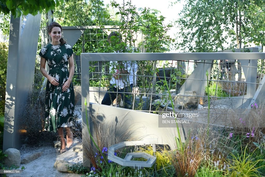 BRITAIN-ENTERTAINMENT-CHELSEA FLOWER SHOW : News Photo