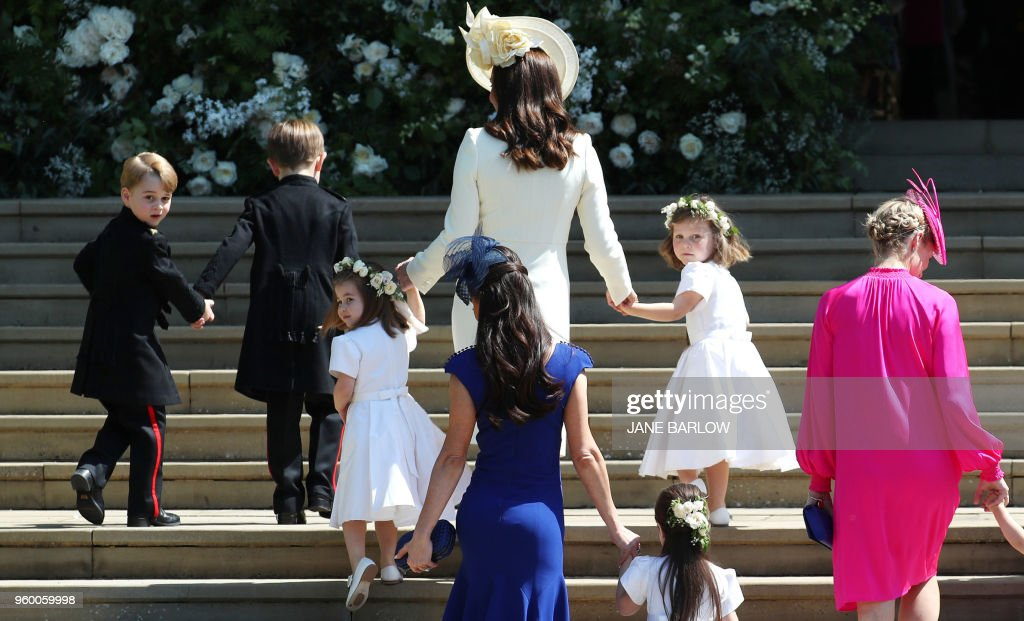 BRITAIN-US-ROYALS-WEDDING-GUESTS : News Photo