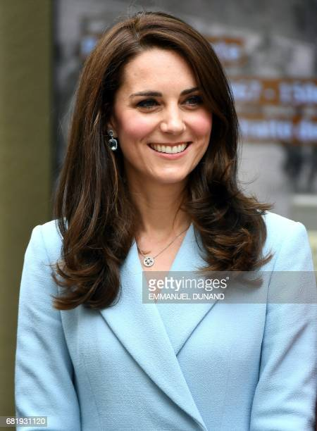Britain's Catherine The Duchess of Cambridge attends the Celebration of the 150th anniversary of the 1867 Treaty of London in Luxembourg on May 11...