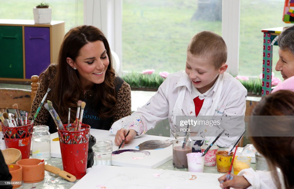 Britain's Catherine, the Duchess of Camb : News Photo