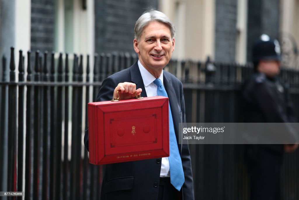 Chancellor Leaves Downing Street For Budget Speech