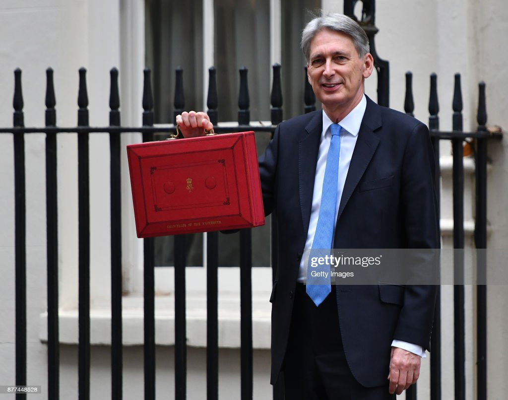 Chancellor Leaves Downing Street For Budget Speech : News Photo