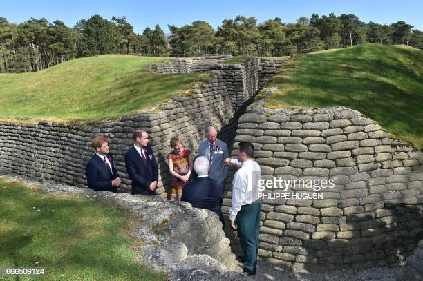 Britain's Charles Prince of Wales Governor General of Canada David Johnston his wife Sharon Britain's Prince William Duke of Cambridge and Britain's...