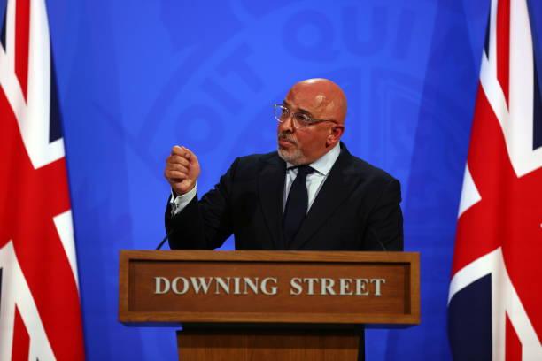 GBR: Virtual Press Conference At Downing Street