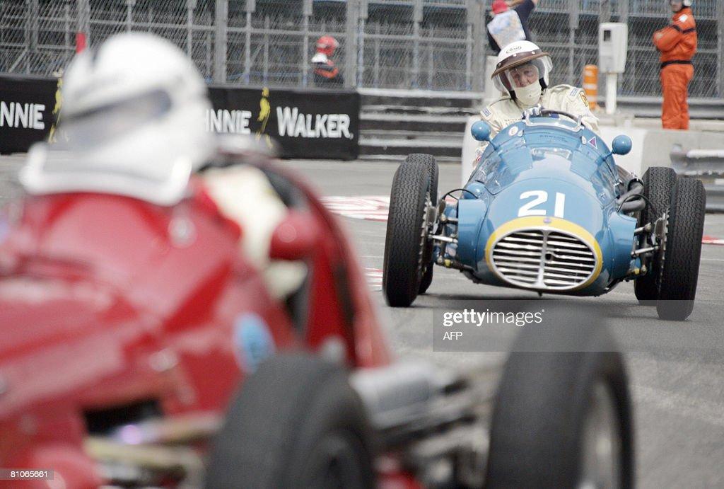 Britain's David Bennet drives a Maseratt : News Photo