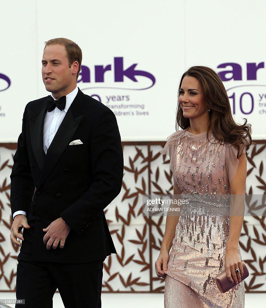 Britain's Duke and Duchess of Cambridge, : News Photo
