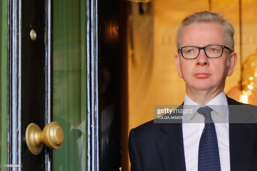BRITAIN-POLITICS-EU-BREXIT-CONSERVATIVE-LEADERSHIP : News Photo