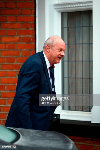 Britain's First Secretary of State Damian Green leaves his home in London on November 6 2017 Britian's Prime Minister Theresa May's government has...