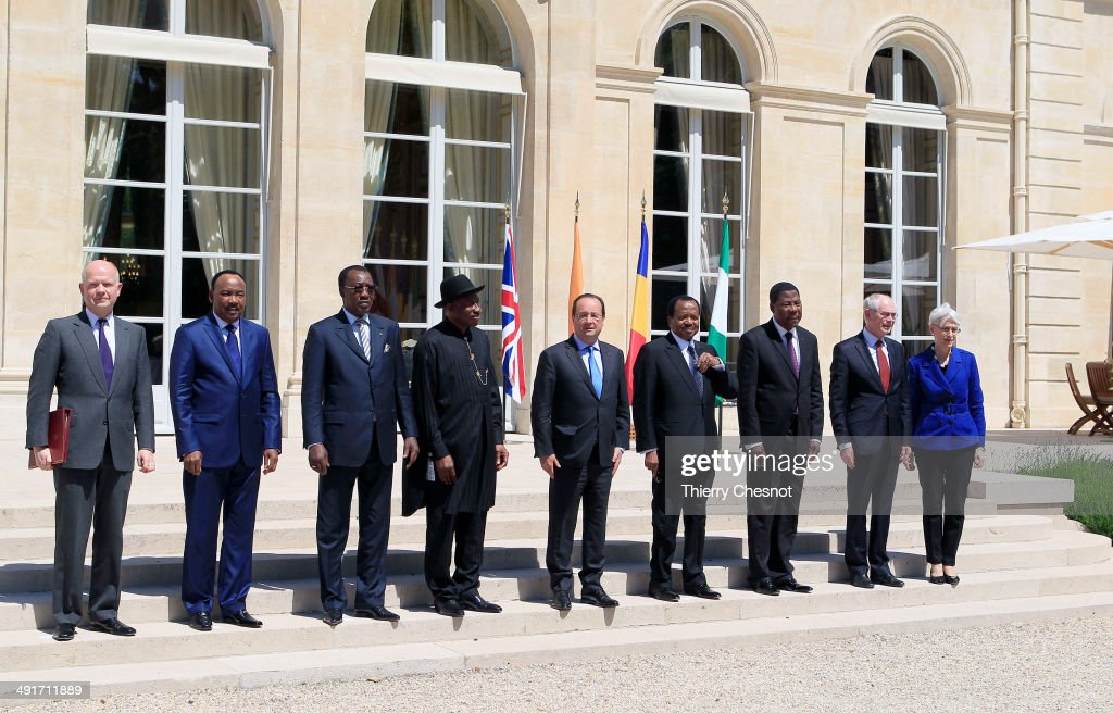 Paris Summit for safety in Nigeria  AT  The Elysee Palace
