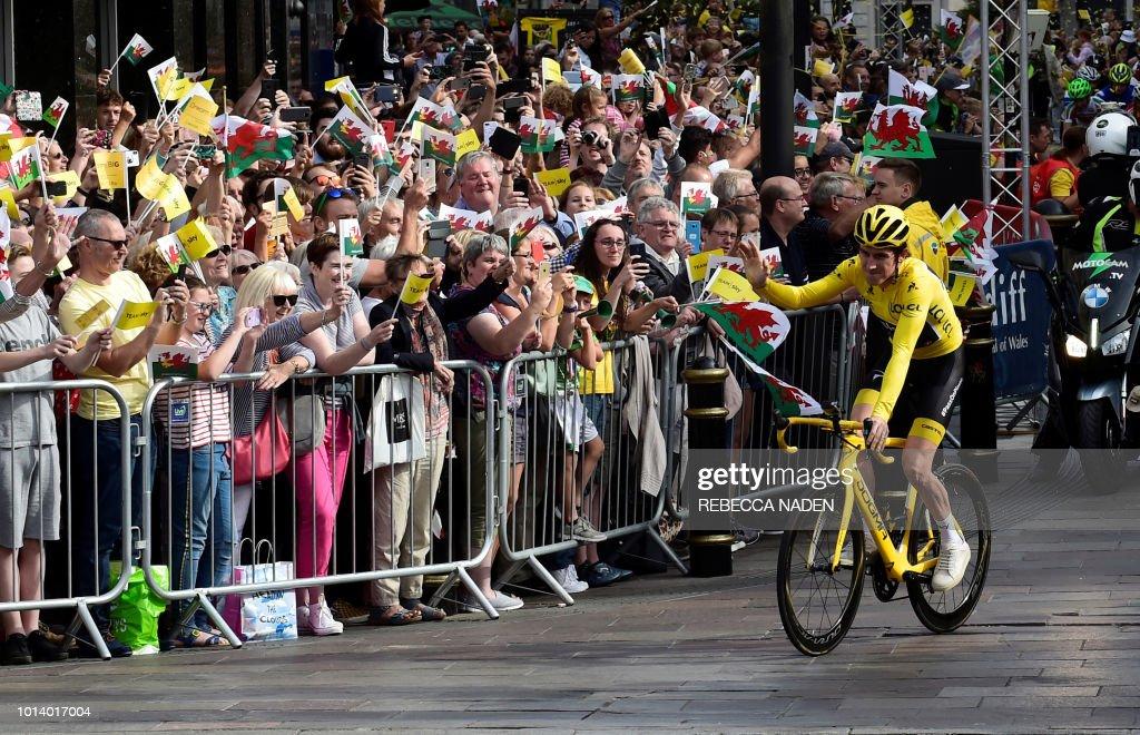 BRITAIN-FRANCE-CYCLING-TDF2018 : News Photo