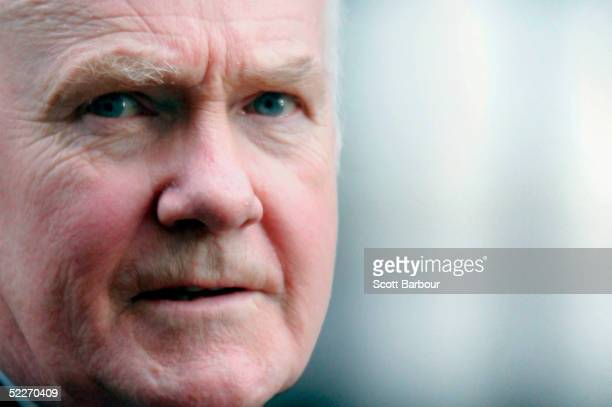 Britain's Health Secretary John Reid leaves 10 Downing Street after attending a cabinet meeting on March 3 2005 in London England The House of Lords...