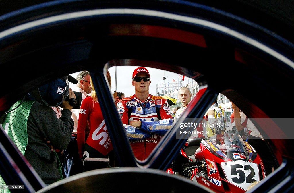 MOTORCYLING-WORLD CHAMPIONSHIPS-SUPERBIKE : News Photo