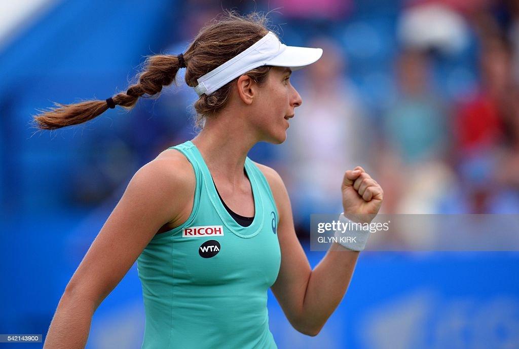 TENNIS-GBR-WTA-EASTBOURNE : News Photo