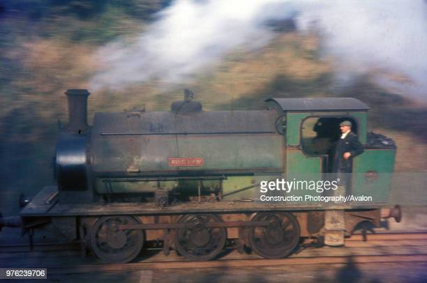 Britain's last steam worked ironstone mine at Nassington in Northamptonshire with one of their 16 Hunslet 060STs These engines built in 1939/40 were...