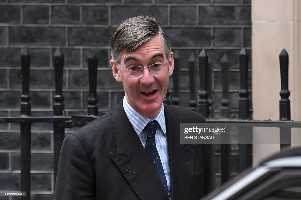 Britain's Leader of the House of Commons Jacob Rees-Mogg