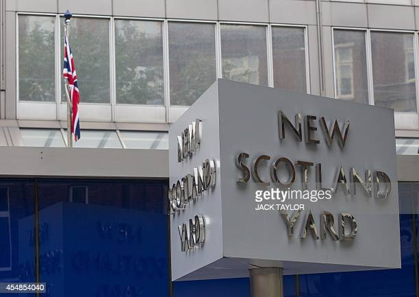 Britain's Metropolitan police headquarters, also known as Scotland Yard, is pictured in central London, on September 4, 2014. A piece of criminal...