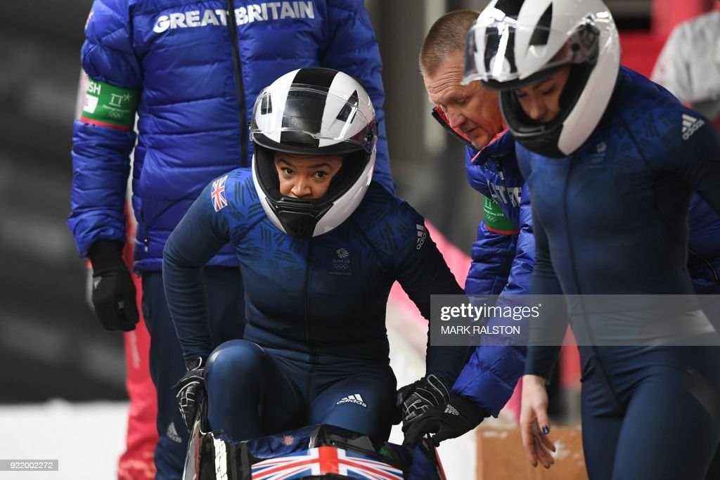 BOBSLEIGH-OLY-2018-PYEONGCHANG : News Photo