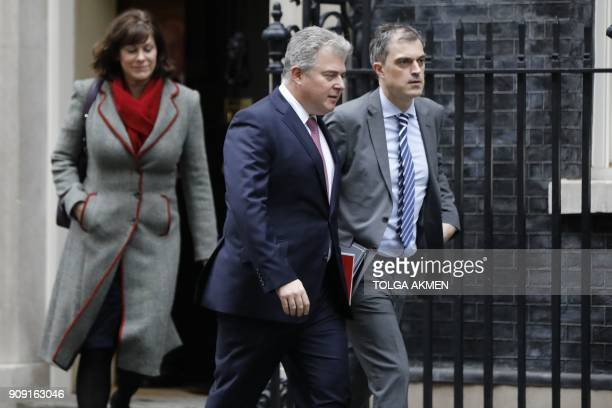 Britain's Minister of State at the Department for Business Energy and Industrial Strategy Claire Perry Britain's Minister without Portfolio and...