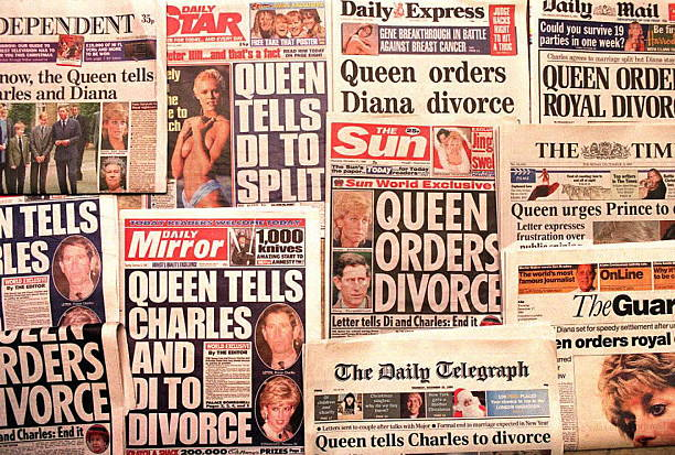 GBR: 28th August 1996 - Prince Charles And Princess Diana Divorce