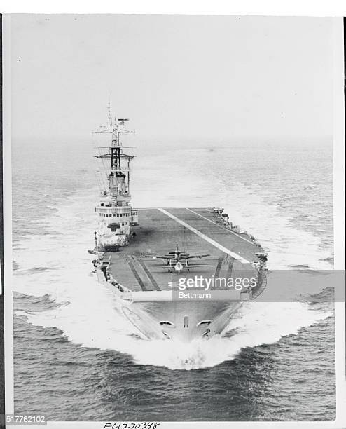 Britain's newest carrier London Eng Here's one of the first official pictures of HMS Bulwark the latest aircraft carrier to join the Royal Navy The...