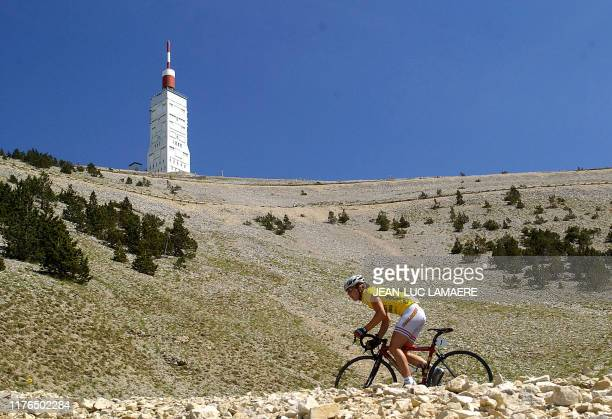 """Britain's Nicole Cooke rides during the fifth stage of the French """"Grande Boucle"""" cycling race between Valreas and L'Isle-sur-la-Sorgue, southern..."""