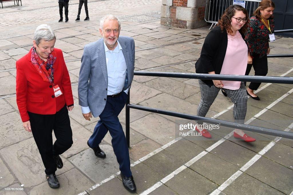 Jeremy Corbyn Addresses Pre-Conference Rally