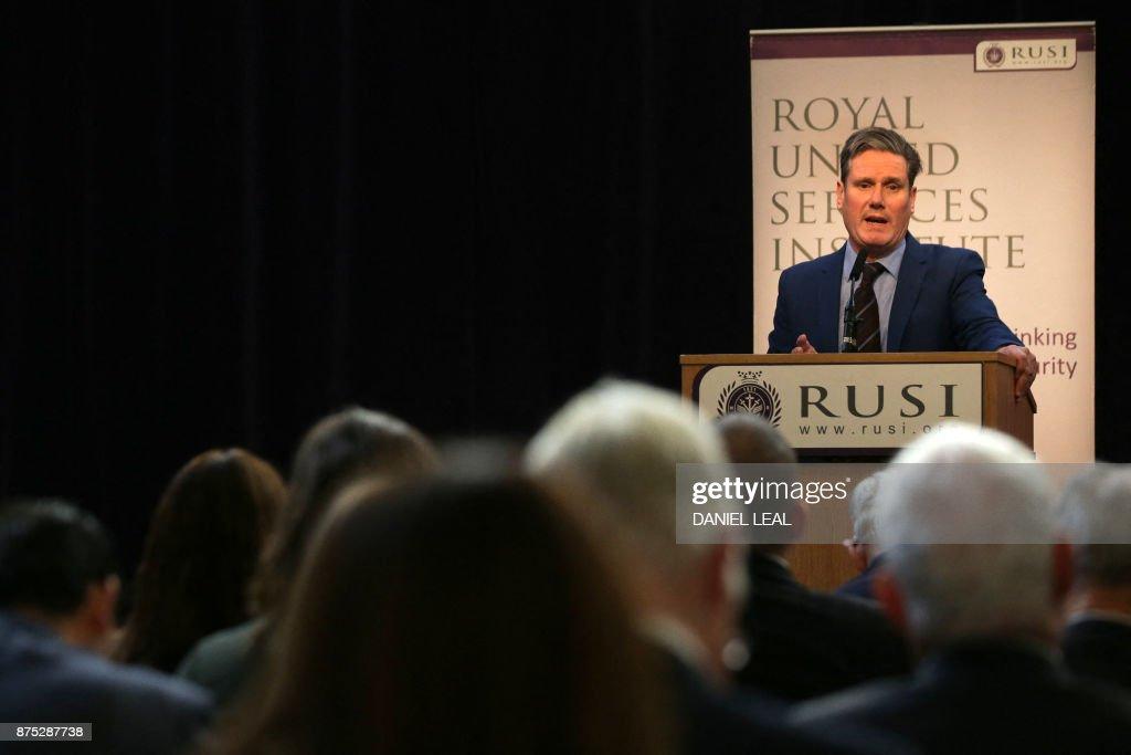BRITAIN-POLITICS-BREXIT : News Photo