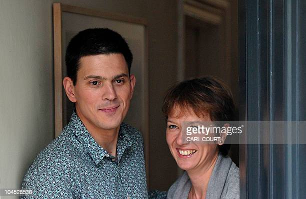 Britain's opposition Labour Party's former Foreign Secretary and defeated candidate for the party's Leadership David Miliband poses for photographers...