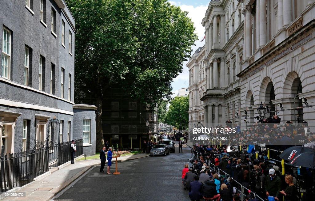 BRITAIN-VOTE : News Photo