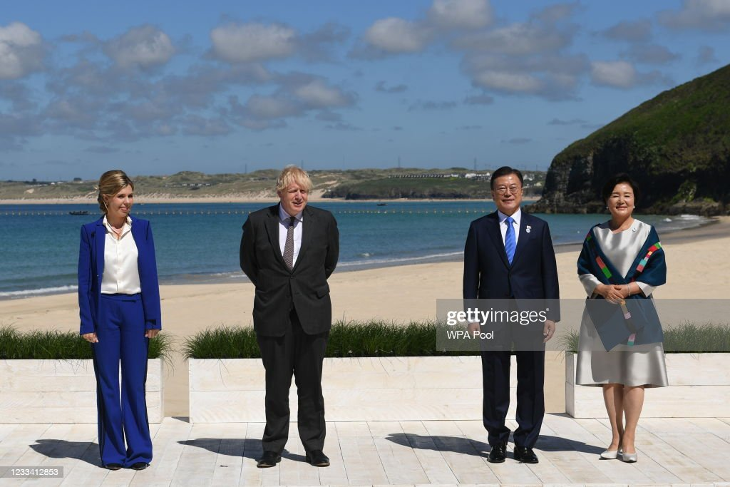 2021 G7 Summit - Day Two : News Photo