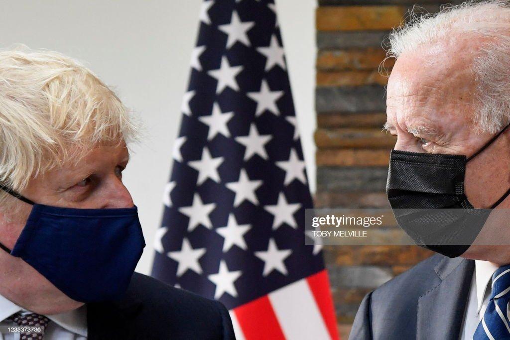 BRITAIN-US-G7-SUMMIT : News Photo