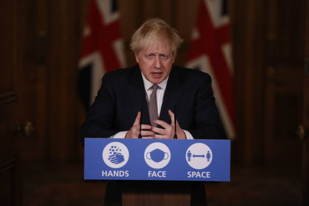 GBR: Boris Johnson Hosts Virtual Covid Press Conference After Emerging From Self Isolation