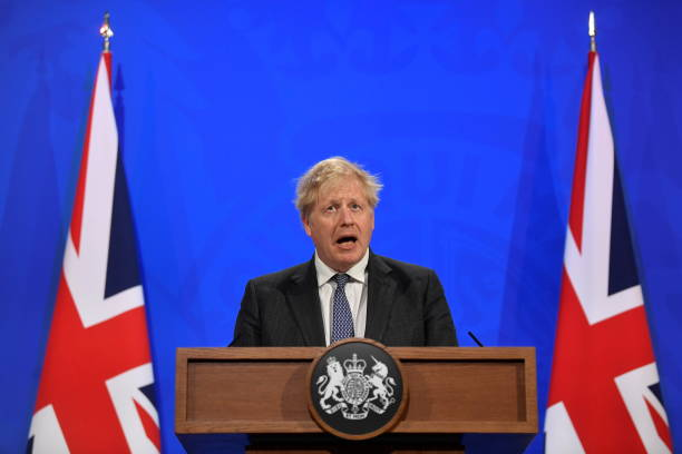 GBR: Boris Johnson Holds Coronavirus Press Conference