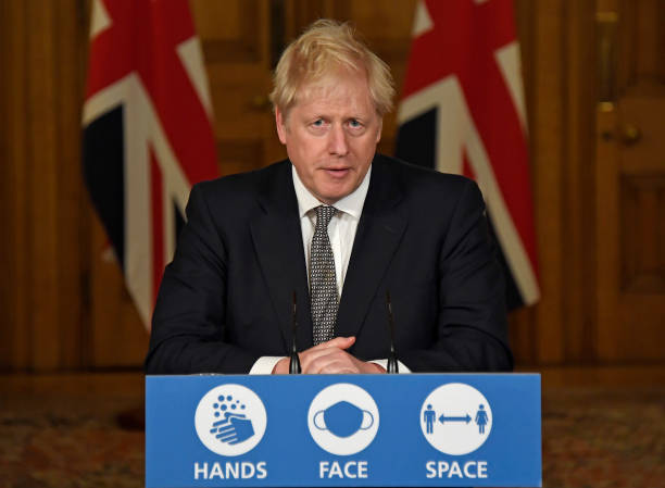 GBR: British PM Holds Press Conference As England Heads Toward New Lockdown