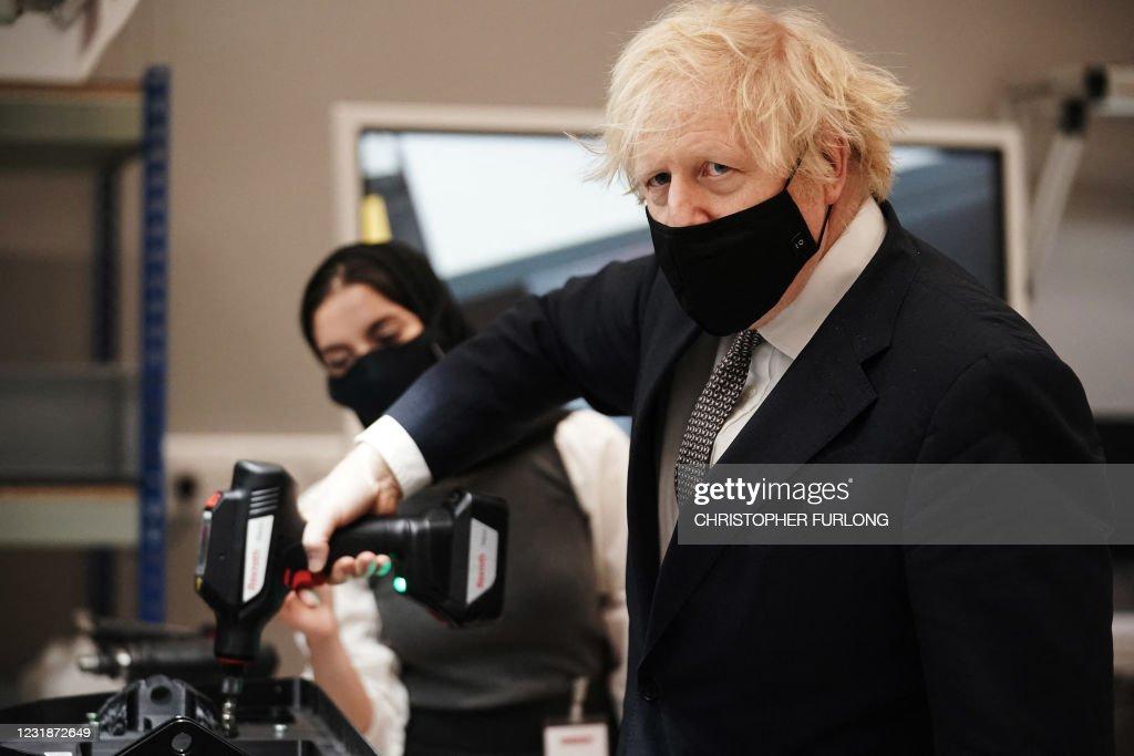 BRITAIN-DEFENCE-POLITICS-DIPLOMACY : News Photo