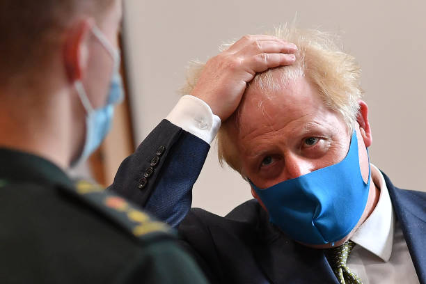 GBR: Prime Minister Visits Ambulance Company In Central London