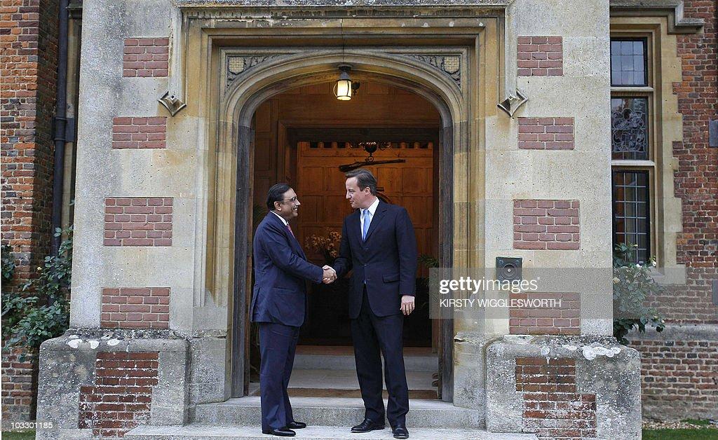 Britain's Prime Minister David Cameron ( : News Photo