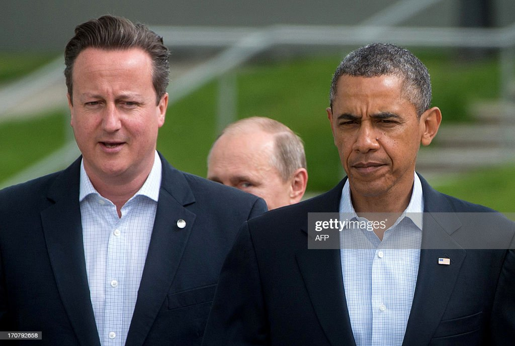 BRITAIN-G8-SUMMIT : News Photo