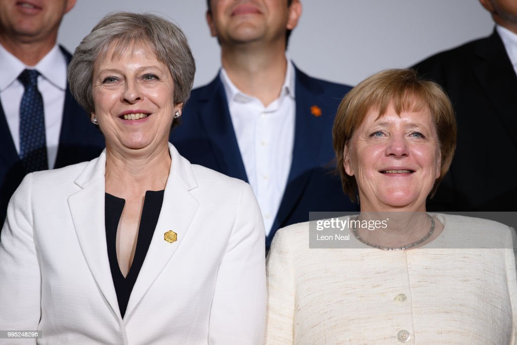Theresa May Hosts The Balkans Summit : News Photo
