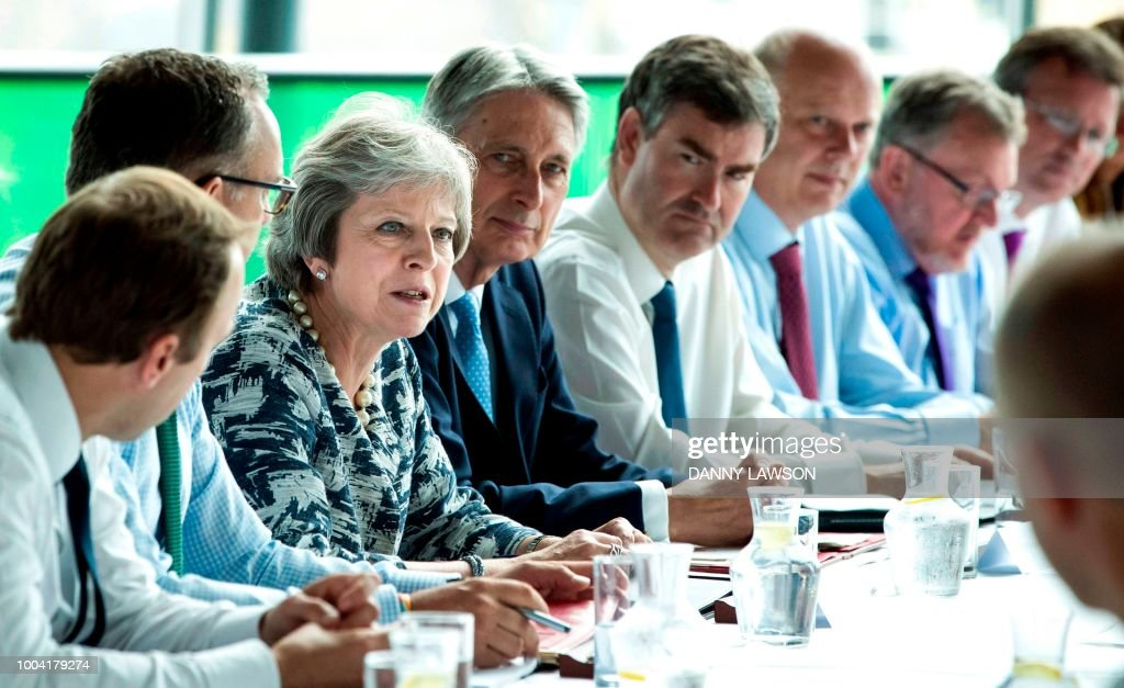 Theresa May Brings Cabinet To The North East