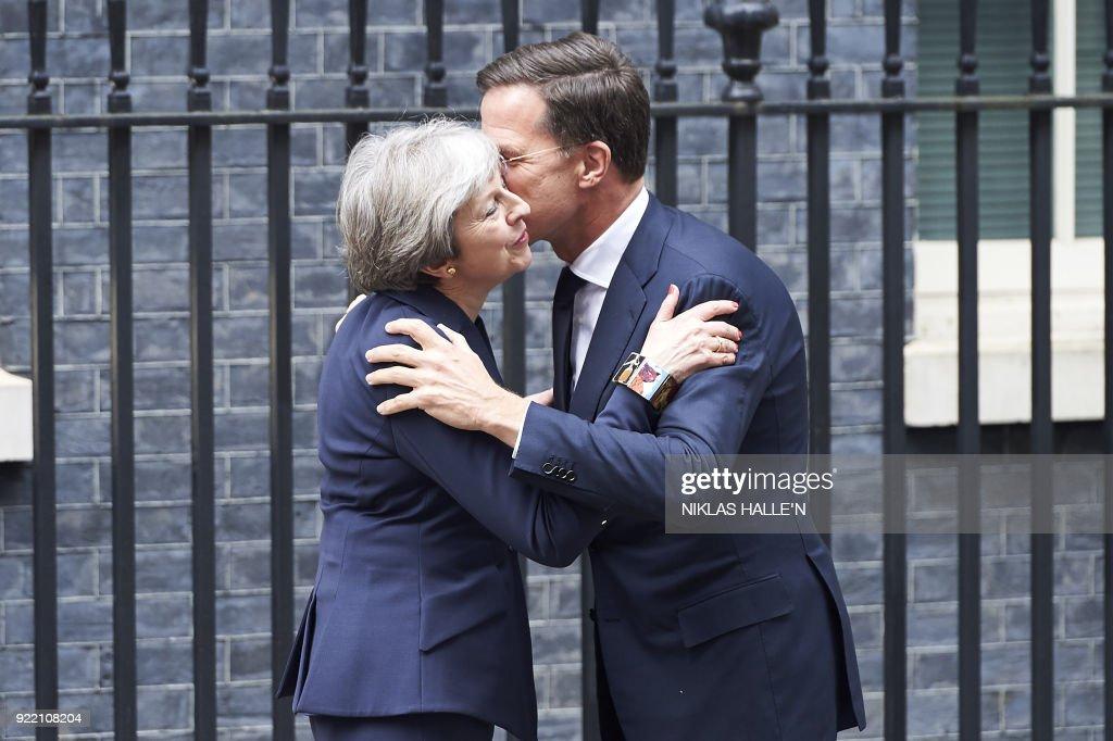 BRITAIN-NETHERLANDS-DIPLOMACY : News Photo