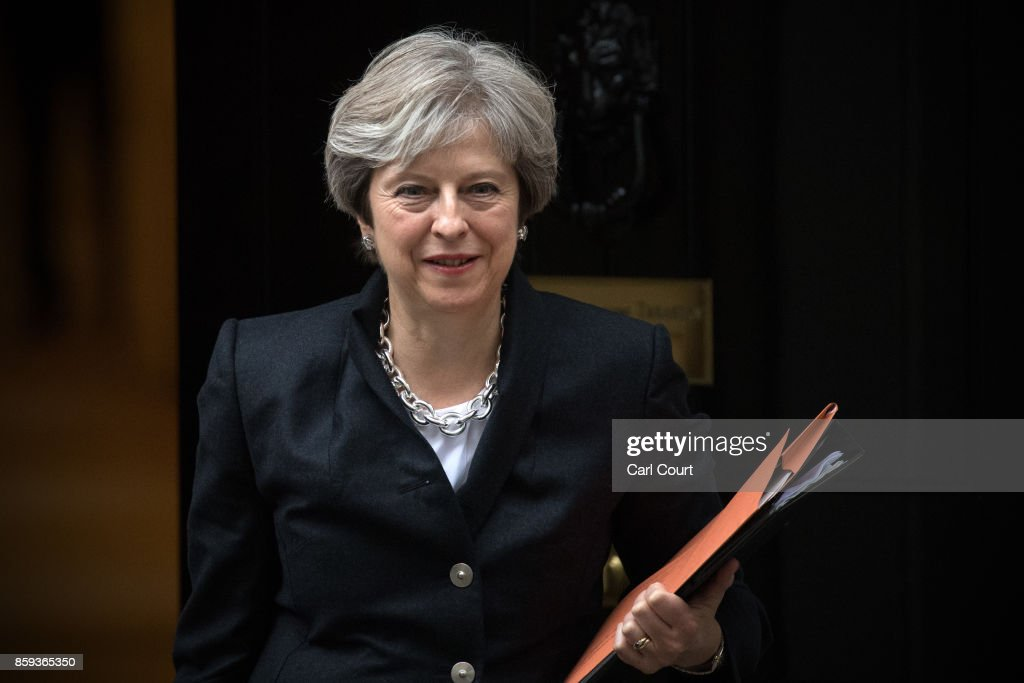 Theresa May Returns To Work After Conservative Party Conference