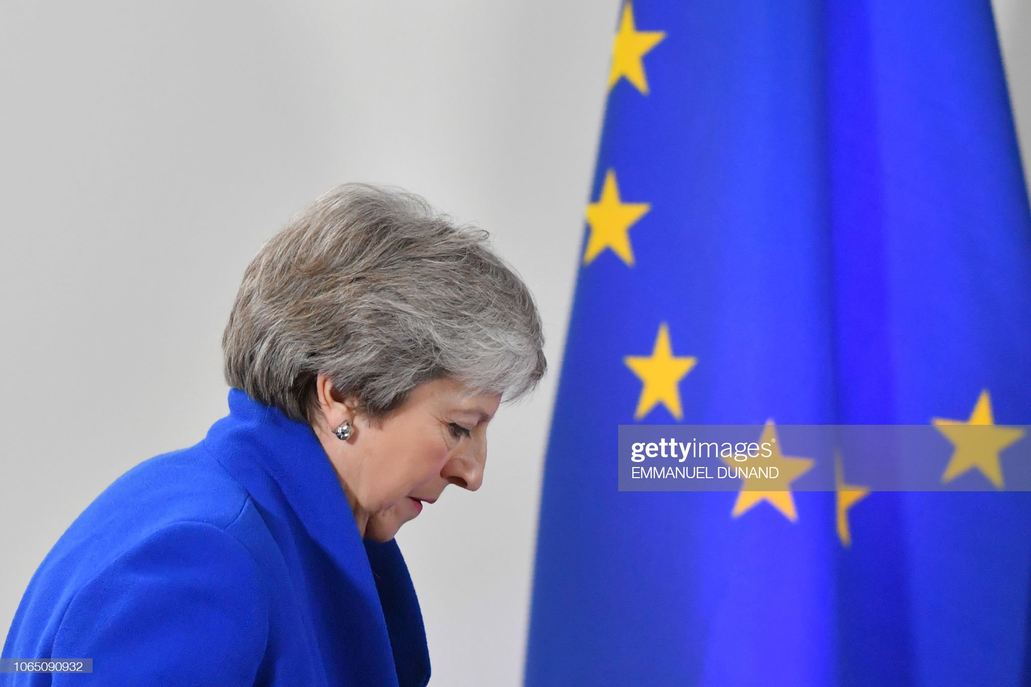 BELGIUM-EU-COUNCIL-BREXIT-POLITICS : News Photo