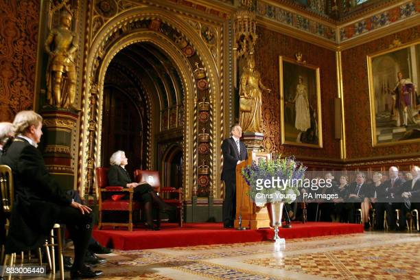 27 Tony Blair And Bertie Ahern Address Parliament Pictures, Photos