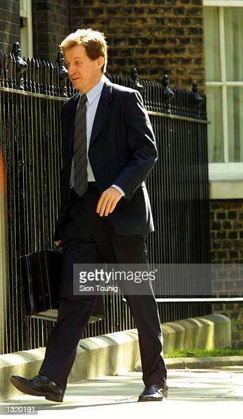 Britain''s Prime Minister Tony Blair''s press Sectretary Alistair Campbell walks to 10 Downing Street after Blair won the General Election June 8...