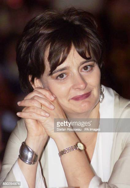 Britain's Prime Minister Tony Blair's wife Cherie attending the annual 'Scots Night Ceilidh' in Bournemouth during the Labour Party Conference